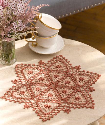 Crochet Patterns Galore Fairfax Doily