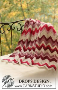 Crochet DROPS blanket