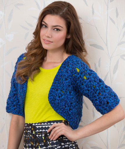 Crochet Patterns Galore Bolero Shrug