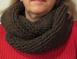 Basic Twisted Cowl Scarf