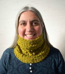 Warm and Textured 1-Skein Cowl