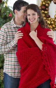 Holiday Cables Throw