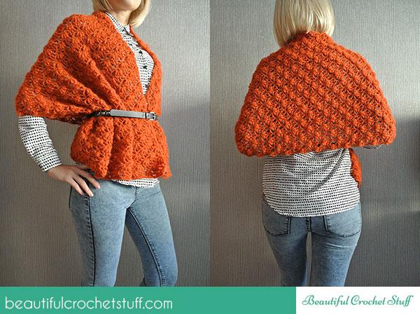 Crochet Patterns Galore Beautiful Stuff Shawl