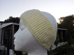 Tunisian Headwrap/Earwarmer