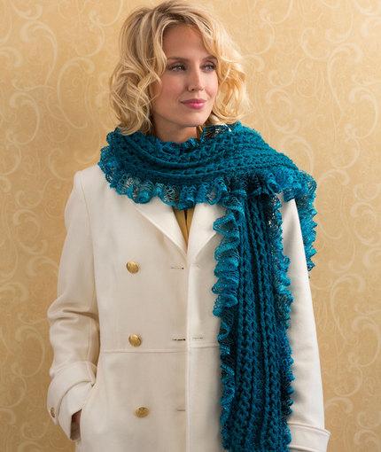 Crochet Patterns Galore Vortex Scarf