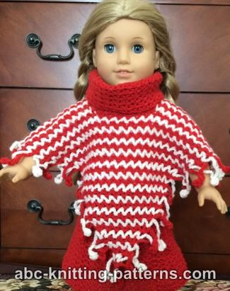 Crochet Patterns Galore American Girl Doll V Stitch Two Color