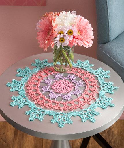 Crochet Patterns Galore Wisteria Doily