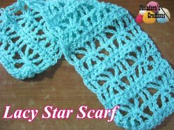 Lacy Star Scarf