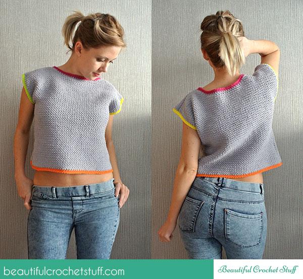 Crochet Patterns Galore - Crochet Crop Top