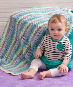 Baby Stripes Blanket