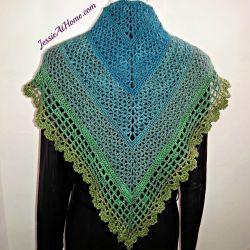 Crochet Patterns Galore Juliette Shawl