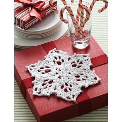 Crochet Patterns Galore Snowflake Dishcloth