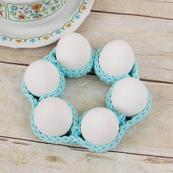Easter Egg Cozy Table Decor