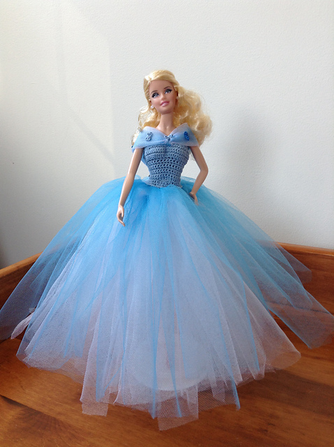 Crochet Patterns Galore Cinderella's Blue Ball Gown Gorgeous Ball Gown Patterns