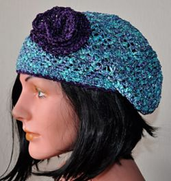 Party Lace Slouch Hat
