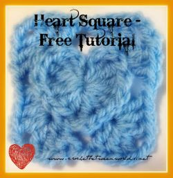 Mini Heart Square
