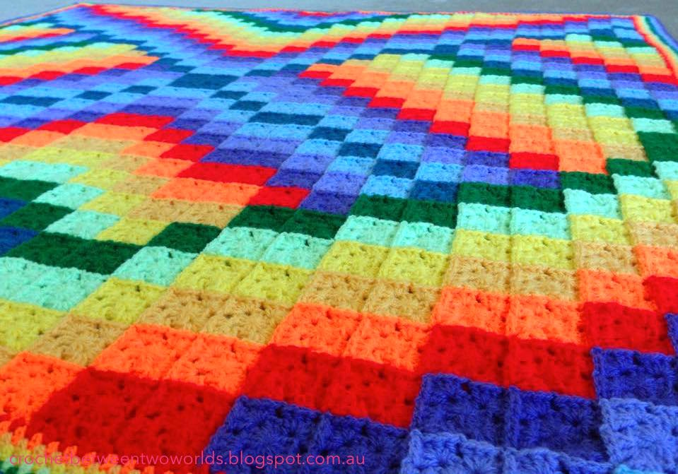 Crochet Patterns Galore Twist And Turn Bargello Afghan Fascinating Twisted Bargello Quilt Pattern Free