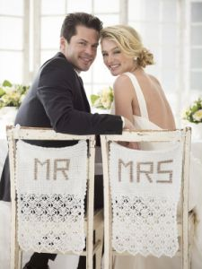 Mr. And Mrs. Chair Covers