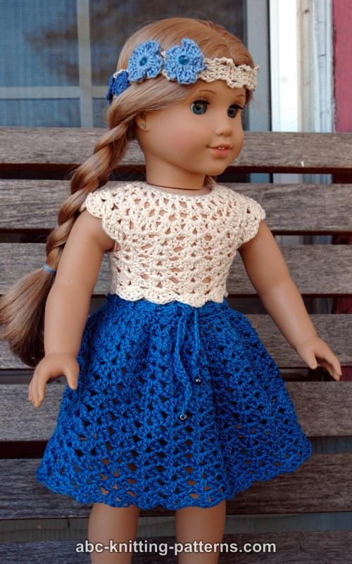 Crochet Patterns Galore American Girl Doll Seashell Summer Top