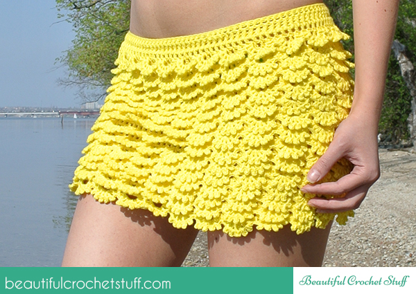 Crochet Patterns Galore Layered Skirt
