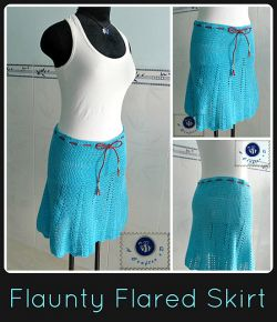Flaunty Flared Skirt