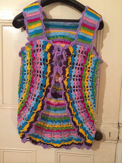 Crochet Patterns Galore Sophie Inspired Circular Vest
