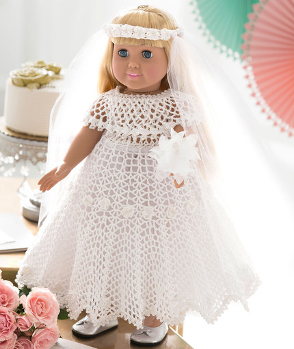 Crochet Patterns Galore Doll Wedding Dress
