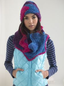 Zigzag Hat And Cowl