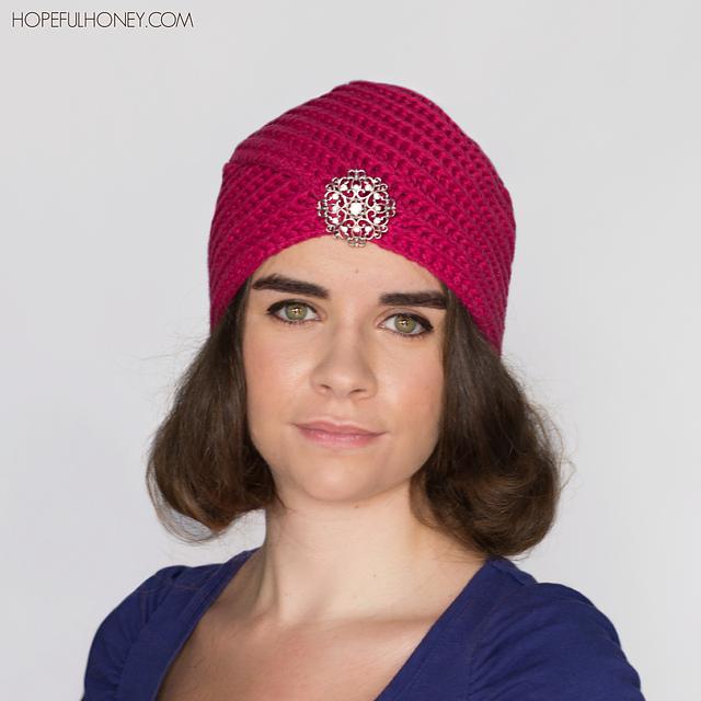 Crochet Patterns Galore Heather Rose Turban
