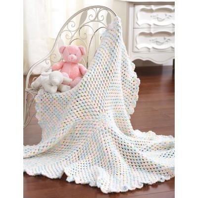 Crochet Patterns Galore Round Blanket