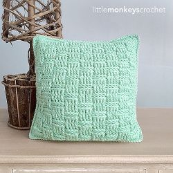 Basketweave Pillow