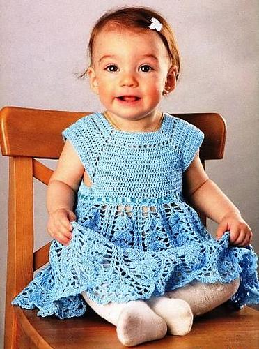 Crochet Patterns Galore Baby Girl Dress