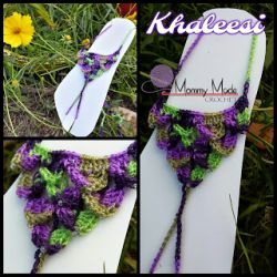 Khaleesi Beaded Dragon Scale Barefoot Sandals