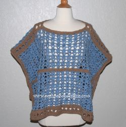 Land and Sea Poncho