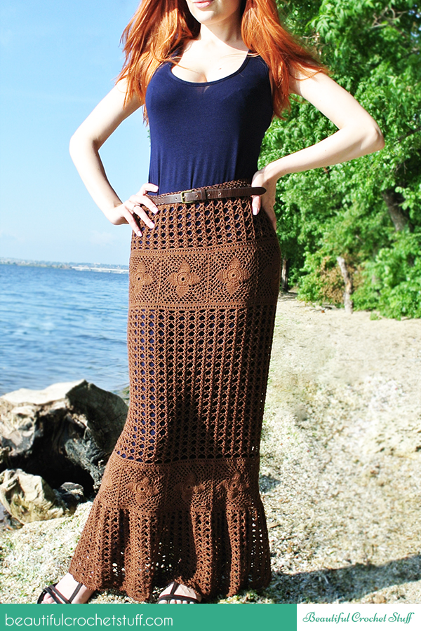 Crochet Patterns Galore - Maxi Skirt