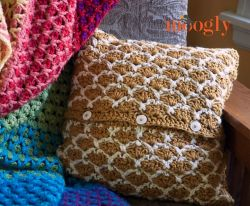 Sunshine Lattice Pillow