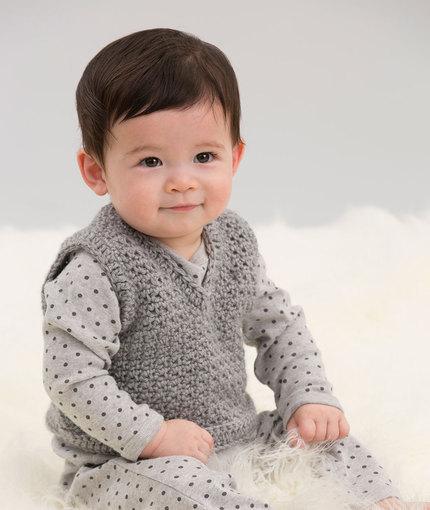 Crochet Patterns Galore Easy V Neck Vest