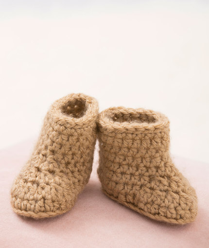 free shipping ca4f7 2a083 Crochet Patterns Galore - Warm Baby Boots
