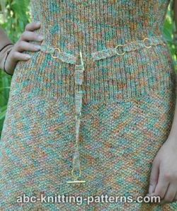 Crochet Belt with Rings