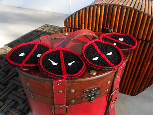 Crochet Patterns Galore Deadpool Coasters
