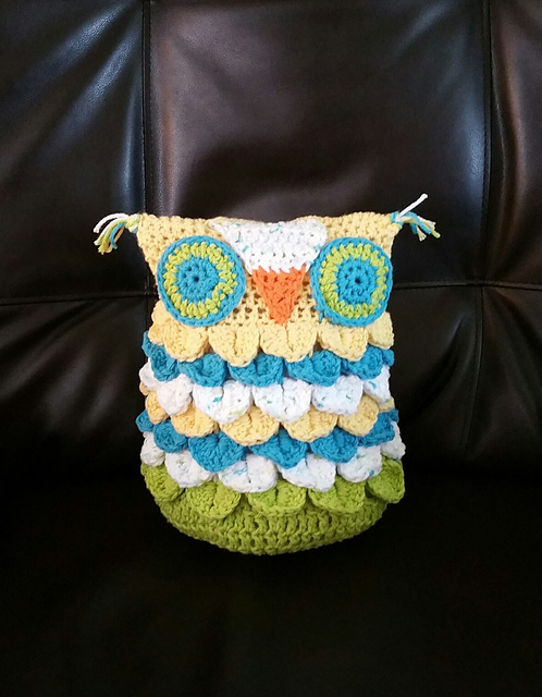 Crochet Patterns Galore Crocodile Stitch Owl