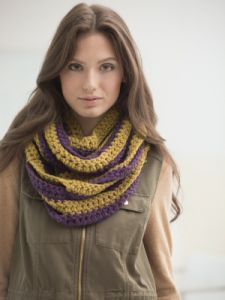Rail Fence Cowl