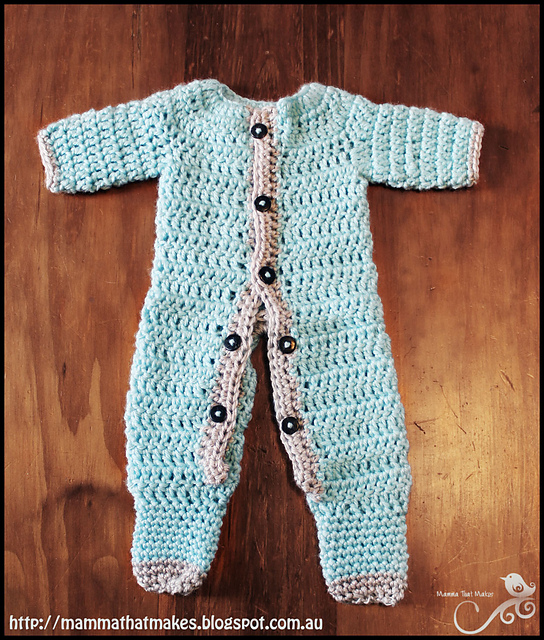 Crochet Patterns Galore Ezra Romper