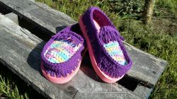 Cotton Moccasin Shoes