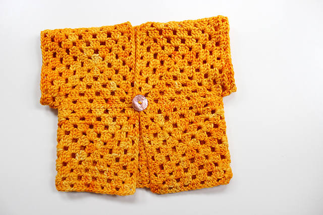 Crochet Patterns Galore : Crochet Patterns Galore - Lemon Squeezy Cardigan