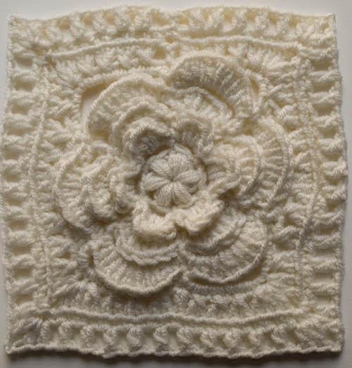 Crochet Patterns Galore Mayapple Flower Square