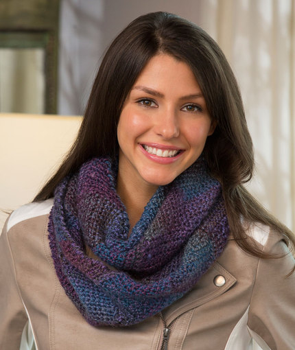 Crochet Patterns Galore Entrelac Crochet Cowl