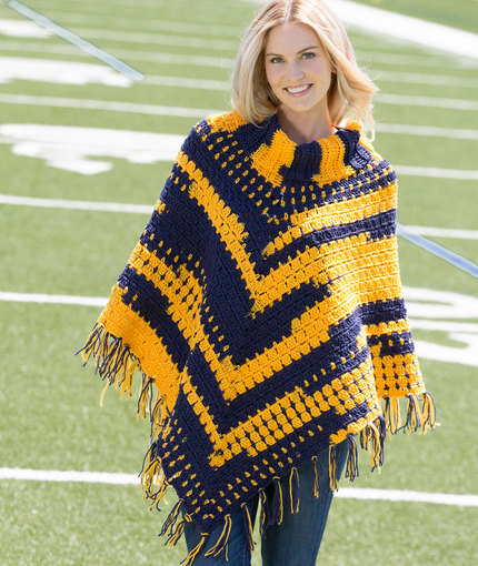 Crochet Patterns Galore Sporty Crochet Poncho