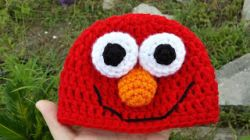 Newborn Elmo Hat
