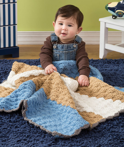 Crochet Patterns Galore Baby Shells Blanket